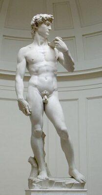 Rzeźba Michała aniola - Dawid